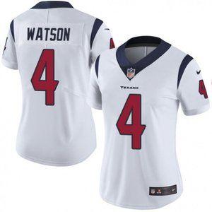 Women Texans Deshaun Watson White Jersey